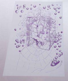 Contemporary Artists, Digital Art, Gallery, Beautiful, Instagram, Women