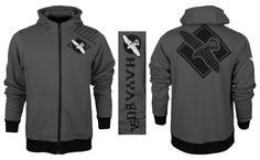 Hayabusa Cast Hoodie - Grey at http://www.fighterstyle.com/hayabusa-cast-hoodie/
