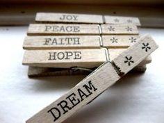 Joy * Peace * Faith * Hope * Dream