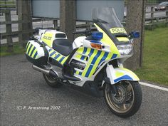 Honda ST1100 Pan European   The police version of my motorcycle in the UK - the stripes are hi-viz and reflective.