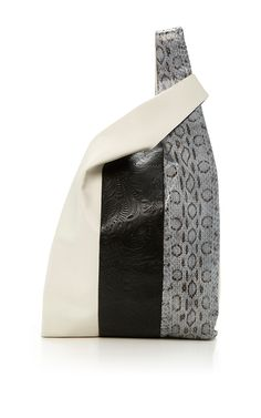 Leather Viper Mix Shopper by HAYWARD for Preorder on Moda Operandi