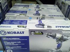 Cordless Power Tools, Packaging Boxes, Drill Driver, Package Design, Lowes, Electric, Image, Drill, Packaging Design