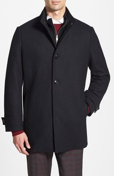 Free shipping and returns on Marc New York by Andrew Marc Melton Wool Car Coat at Nordstrom.com. A ribbed-knit inset adds a casual layered look to a handsome wool-blend car coat.
