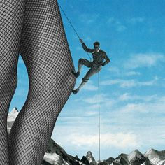 Surrealist Collages Playing with Stereotypes. Sammy Slabbinck