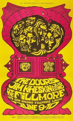 MOONLIGHT DRIVE Vintage Concert Posters, Poster Vintage, Rock Posters, Band Posters, Music Posters, Film Posters, Janis Joplin, Grateful Dead, Pink Floyd