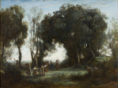 26. corot, morning: dance of the nymphes