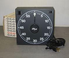 Gralab Darkroom 60 Minute Timer Model 300 Photography   eBay