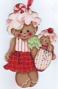 HP GINGERBREAD with Baby WALL HANGING | Artesanías, Piezas de artesanía y acabadas, Artículos pintados a mano | eBay!