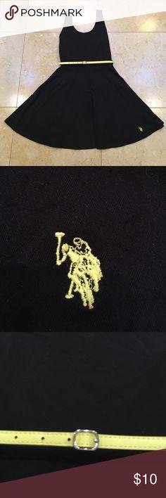 US Polo Assn tank mini dress US Polo Assn tank mini dress with yellow belt U.S. Polo Assn. Dresses Mini