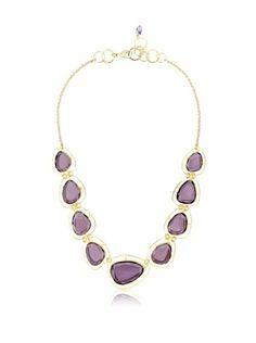 63% OFF KANUPRIYA Purple Delight Necklace