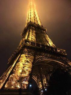 PARIGI, Torre Eiffel. Bella da togliere il fiato! Foto by fan © Marco Polato Temple Gardens, Twisted Tree, Koi, Bella, Climbing, Tours, River, Building, Places