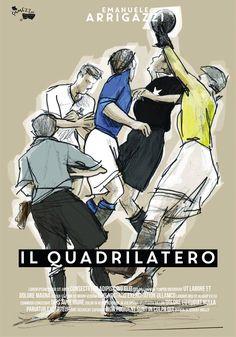 """7° Classificato Contest """"Una Locandina per il Quadrilatero""""  Artwork by Max Ramezzana."""