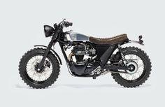 Kawasaki W800 Scrambler by Moto Di Ferro #scrambler #motos | Vintgarage