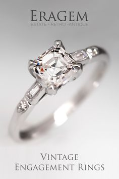 EraGem specializes in finding one-of-a-kind authentic vintage engagement rings for the bride to be that wants a piece of history to add on her own history to.