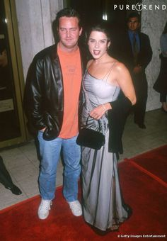Matthew Perry & neve campbell