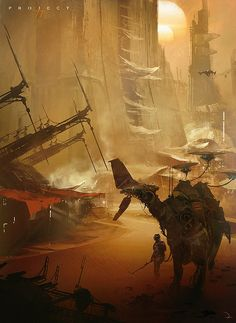 Amazing Concept Art by Martin Deschambault