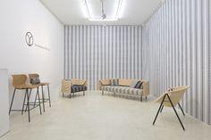 Johanna Gullichsen collaboration with Japanese Yamakawa Rattan. #habitare2015 #design #sisustus #messut #helsinki #messukeskus