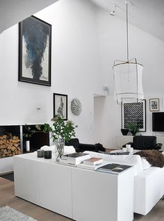 How to combine #black with #plants as #decoration |  Casa Atelier blog