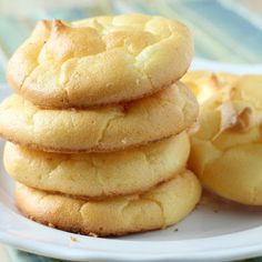 Cloud Bread @keyingredient #cheese #paleo #bread