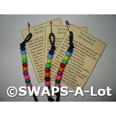 Colors of the Girl Scout Law SWAPS