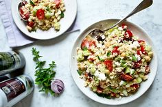 Kitchenette, Fried Rice, Pasta Salad, Risotto, Fries, Food And Drink, Ethnic Recipes, Eat, Crab Pasta Salad