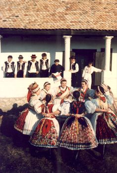 Folk Costume, Costumes, Dance Stuff, Folk Dance, Long Time Ago, Folklore, Traditional Outfits, Hungary, Dancers