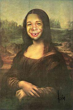 Mona Lisa: Alfred E. Neuman, MAD Magazine