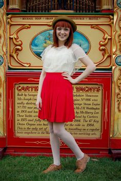 red skirts <3