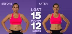 OMG! - Im still stunned!  See how I lost 15 pounds in 15 days.  p.s. I also won $100 from my sister who believed I couldn't do it