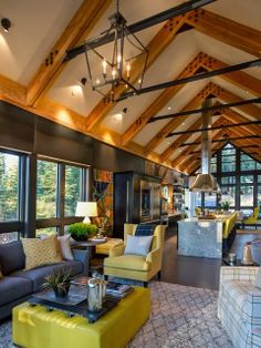 HGTV Dream Home 2014 : Living Room Pictures