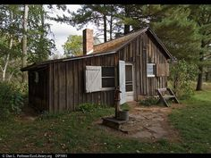 Aldo Leopold Shack.  More of a shack than a cottage...but I love it!!
