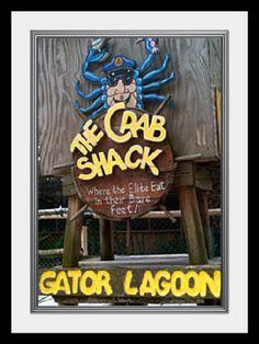 """The Crab Shack"" on Tybee Island, Georgia"