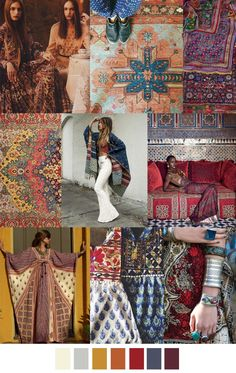 F/W 2017-2018 pattern & colors trends: INTO THE MYSTIC