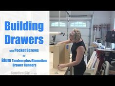 How to Build a Drawer for Blum Drawer Glides | Sawdust Girl | Bloglovin'