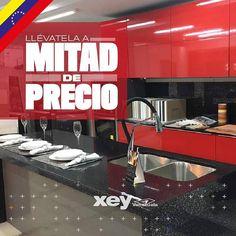 Llévate esta #Cocina Murano por un precio espectacular Además te regalamos el tope! Ven a cualquiera de nuestros #Showroom en Venezuela y mira todas las #cocinas  que tenemos a #MitadDePrecio. El #Hogar de #CocinaEspañola es @xeyvenezuela Te esperamos! #XEY #homedesign #design #cooking #homelifestyle #cocinas #cocinasmodernas #cocinasespañolas #decoración #homeimprovement #kitchen #homedecor #homecooking #Venezuela #modular #casa #XEYvenezuela #cook #diseñointerior #diseñodeinteriores…