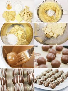 Vaniljpraliner med rom Homemade Sweets, Christmas Candy, Baking Ideas, No Bake Desserts, Lovers, Breakfast, Kitchen, Morning Coffee, Cooking