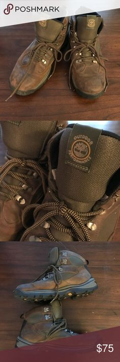 Timberland Plymouth Trail Waterproof Hiking Boots Timberland Plymouth Trail Waterproof Hiking Boots. Worn very little, ended up buying other Timberland boots. Size 12. More info in photos. Timberland Shoes Boots