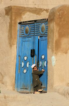 Afghanistan - let me in! by Madame Knipse, via Flickr