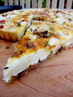 Potato Tart with Goat Cheese and Caramelized Onions
