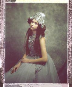 model: Sandra (Eastern Models) designer: Magdalena Wilk-Dryło muah: Viola Mietlicka large format polaroid
