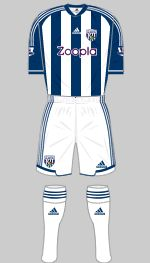 west bromwich albion 2012-13 home kit