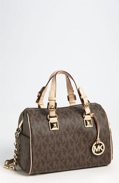 MICHAEL Michael Kors 'Grayson Logo - Chain' Satchel (Save Now through 12/9) available at #Nordstrom