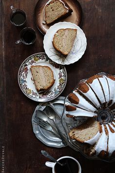// Apple Butter Cake.