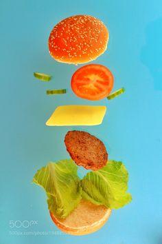 Gravity burger by wael17