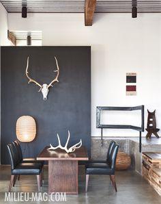 Santa Fe designer Ernie Zulpizio, featured in the Fall 2013 issue of MILIEU.