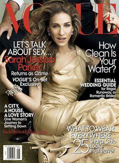 SJP covers Vogue US June 2008