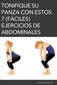 Tonifique su panza con estos 7 (fáciles) ejercicios de abdominales - Conocer Salud