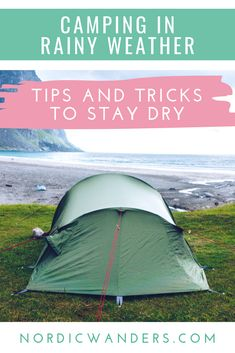 Click through to find out how to stay dry and warm when going camping in Scandinavia! Solo Camping, Camping In The Rain, Camping Hacks, Visit Denmark, Visit Norway, Visit Sweden, Visit Alaska, Visit Canada, Norway Travel
