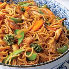Chicken Lo Mein Recipe 11 | Just A Pinch Recipes