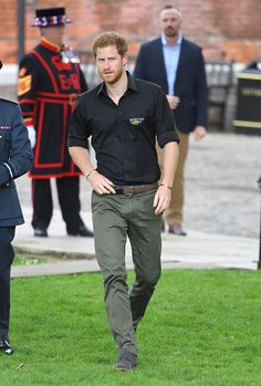 Royal Family Around the World: Prince Harry Attends UK Team Launch For Invictus Games Toronto 2017 - Tower Of London
